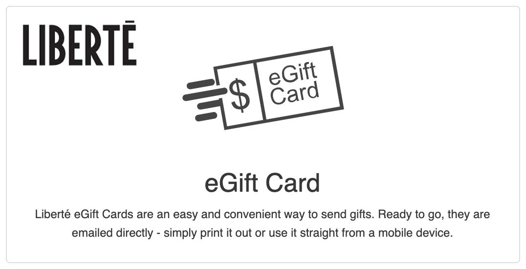 Liberte eGift-Card